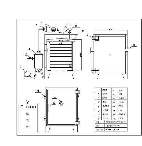 fzg系列带冷凝器电加热真空干燥箱-南京索特烘箱制造